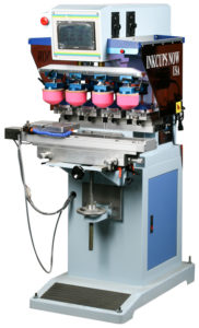 2500 Heavy Duty 4-Color Pad Printing Machine